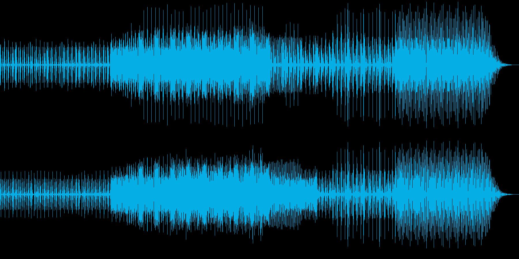 ピアノ等ミニマルミュージックの再生済みの波形