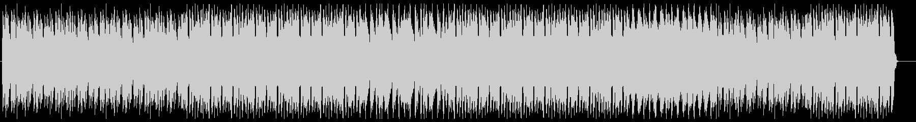 太いベース音からはじまるかっこいいEDMの未再生の波形