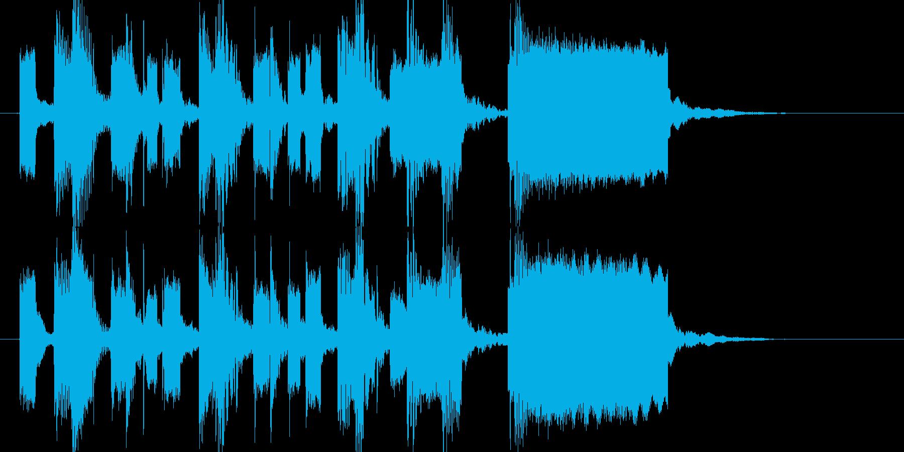 ゲームオーバー コミカル 間抜けの再生済みの波形