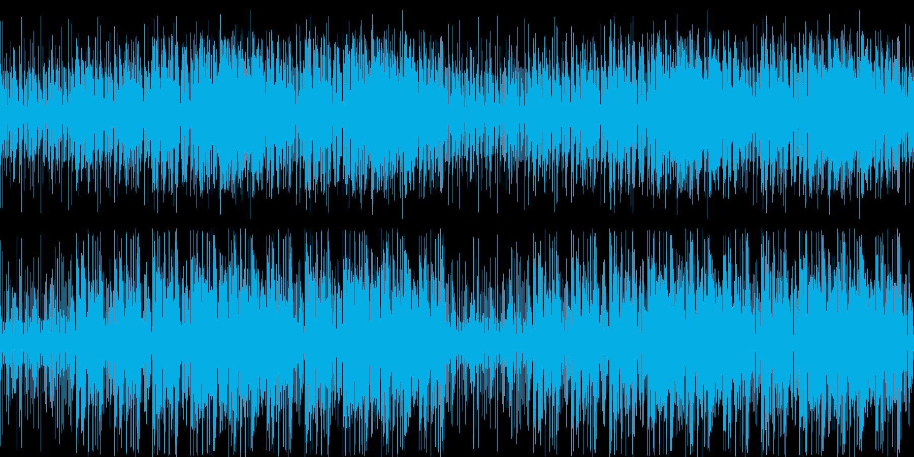 【アフリカンなフルートJAZZ】の再生済みの波形