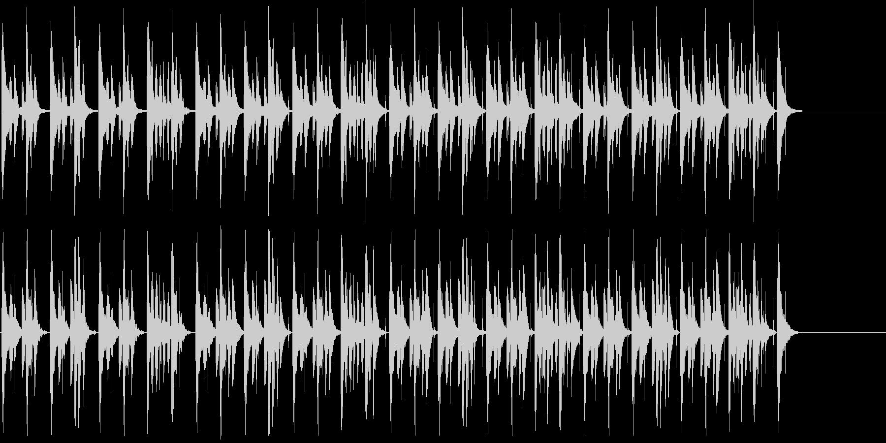 映像系に合うコミカルで可愛らしい曲の未再生の波形
