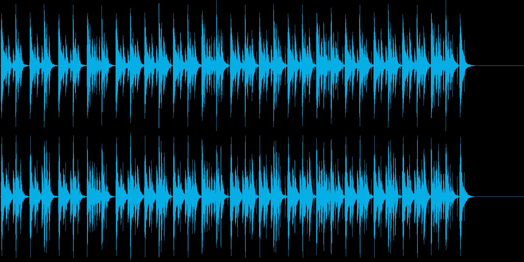 映像系に合うコミカルで可愛らしい曲の再生済みの波形