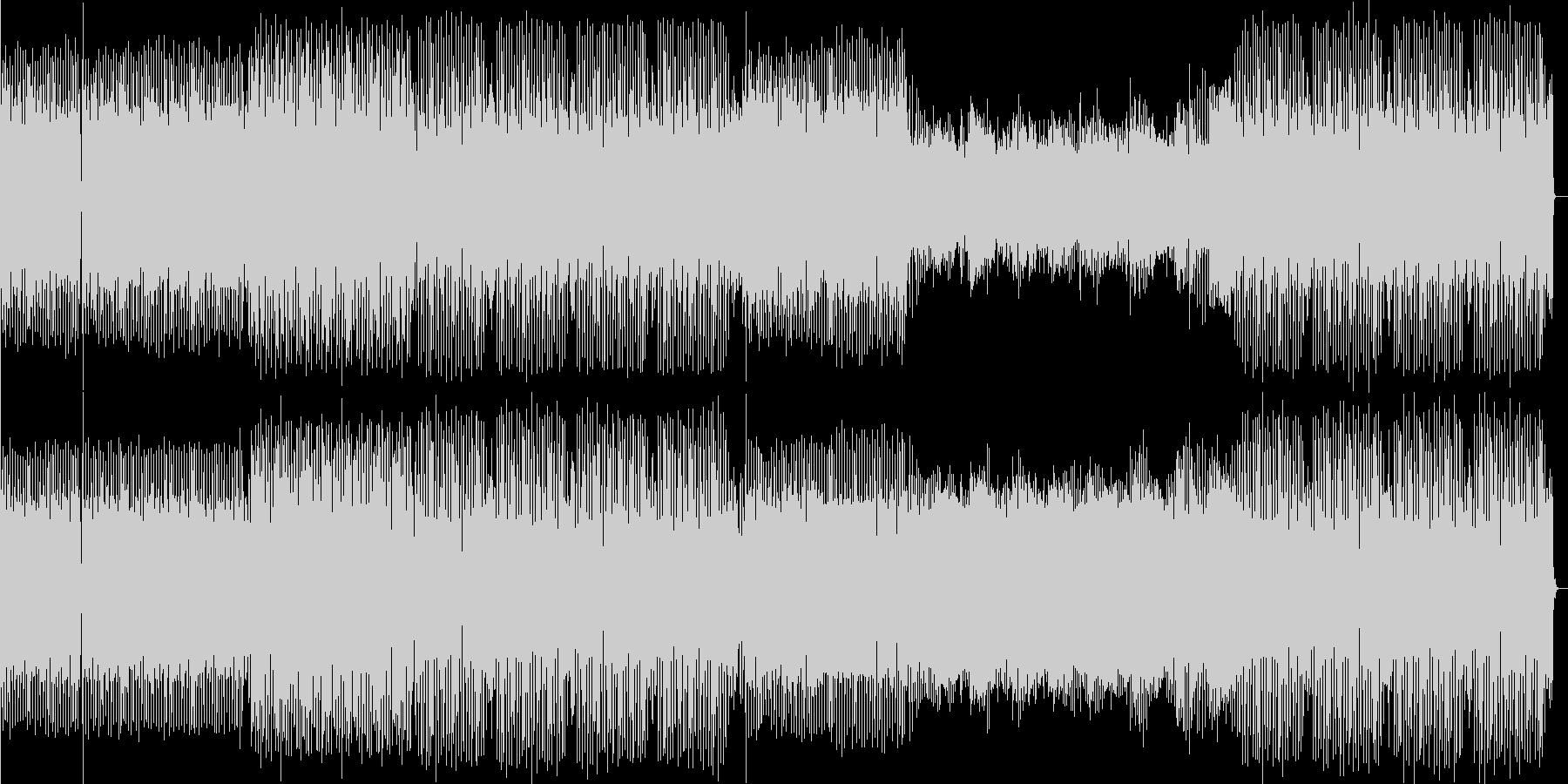 明るめなedm。音圧厚めの重低音kic…の未再生の波形