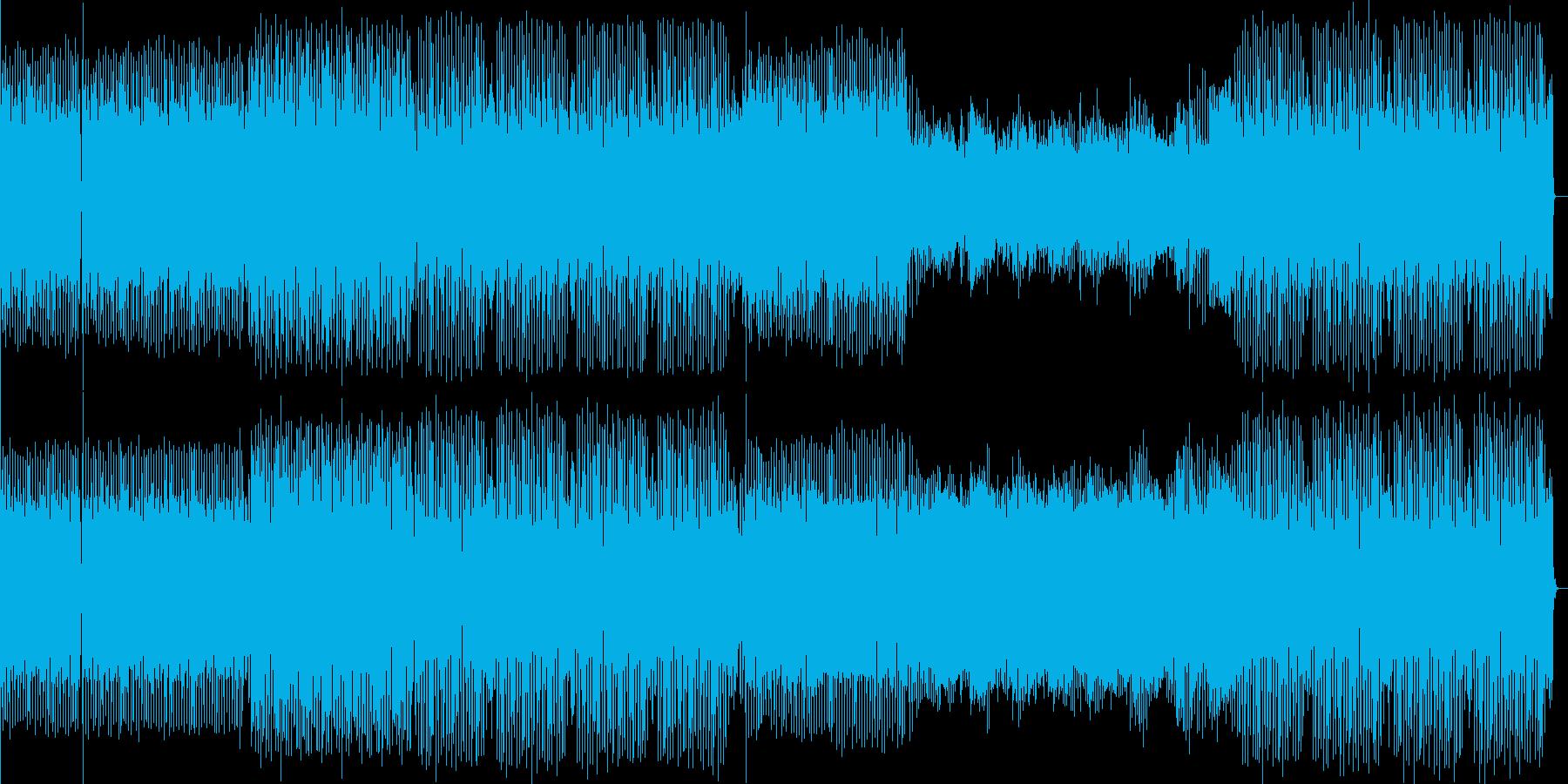 明るめなedm。音圧厚めの重低音kic…の再生済みの波形
