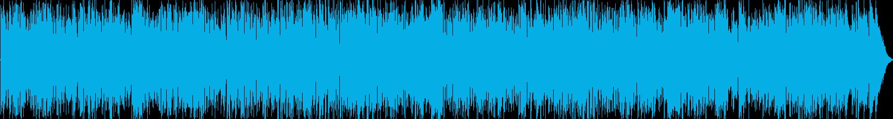 おしゃれなポップスのBGM.の再生済みの波形