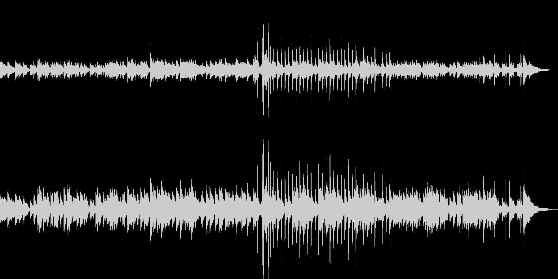 エントランスに合うBGMの未再生の波形