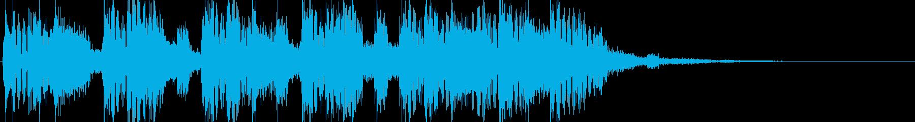 シンセ、テクノのんの再生済みの波形