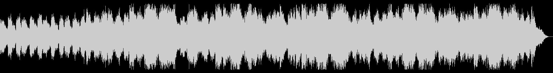 恐怖の領域 ダークなシーンの演出の未再生の波形