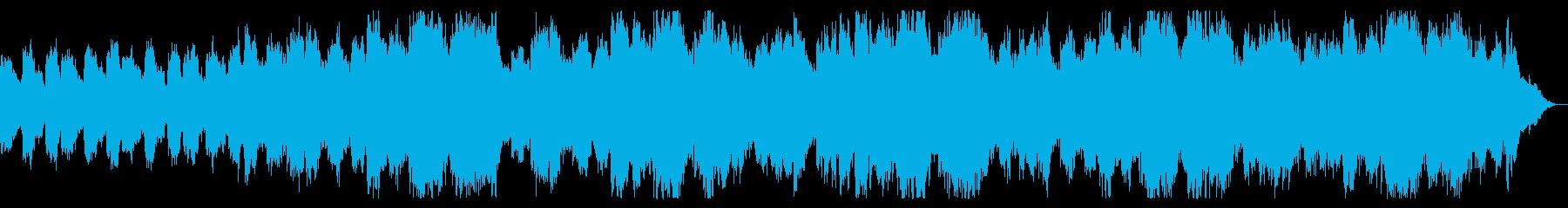 恐怖の領域 ダークなシーンの演出の再生済みの波形