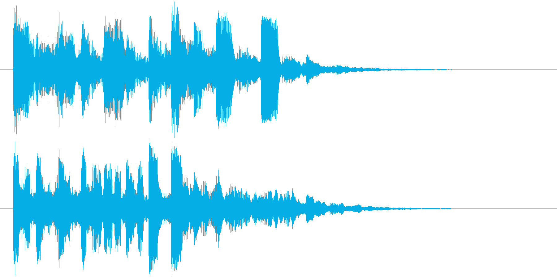 未来科学のインスピレーションロゴ♪の再生済みの波形