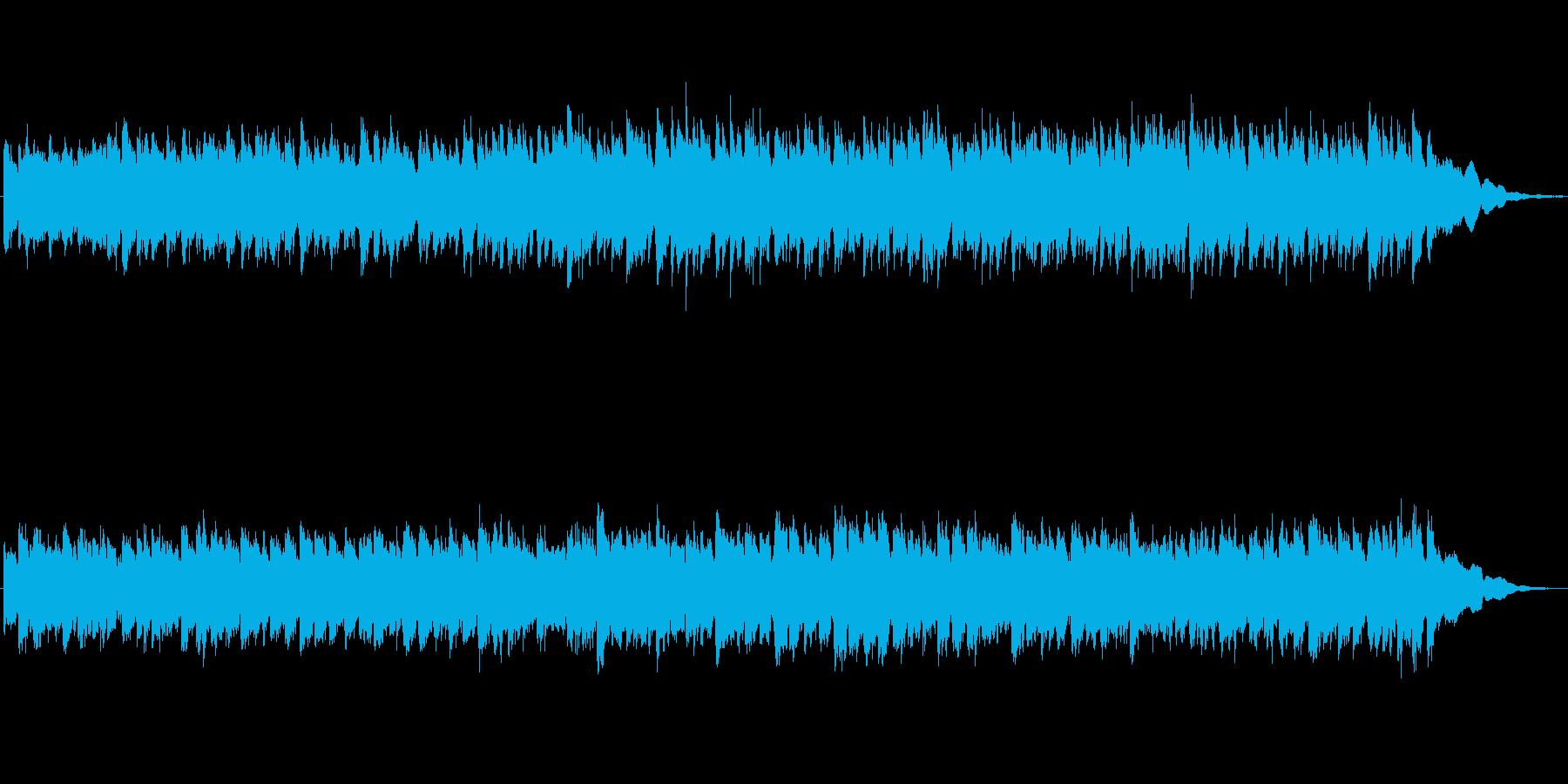 キラキラシンセの沖縄風ジングルの再生済みの波形