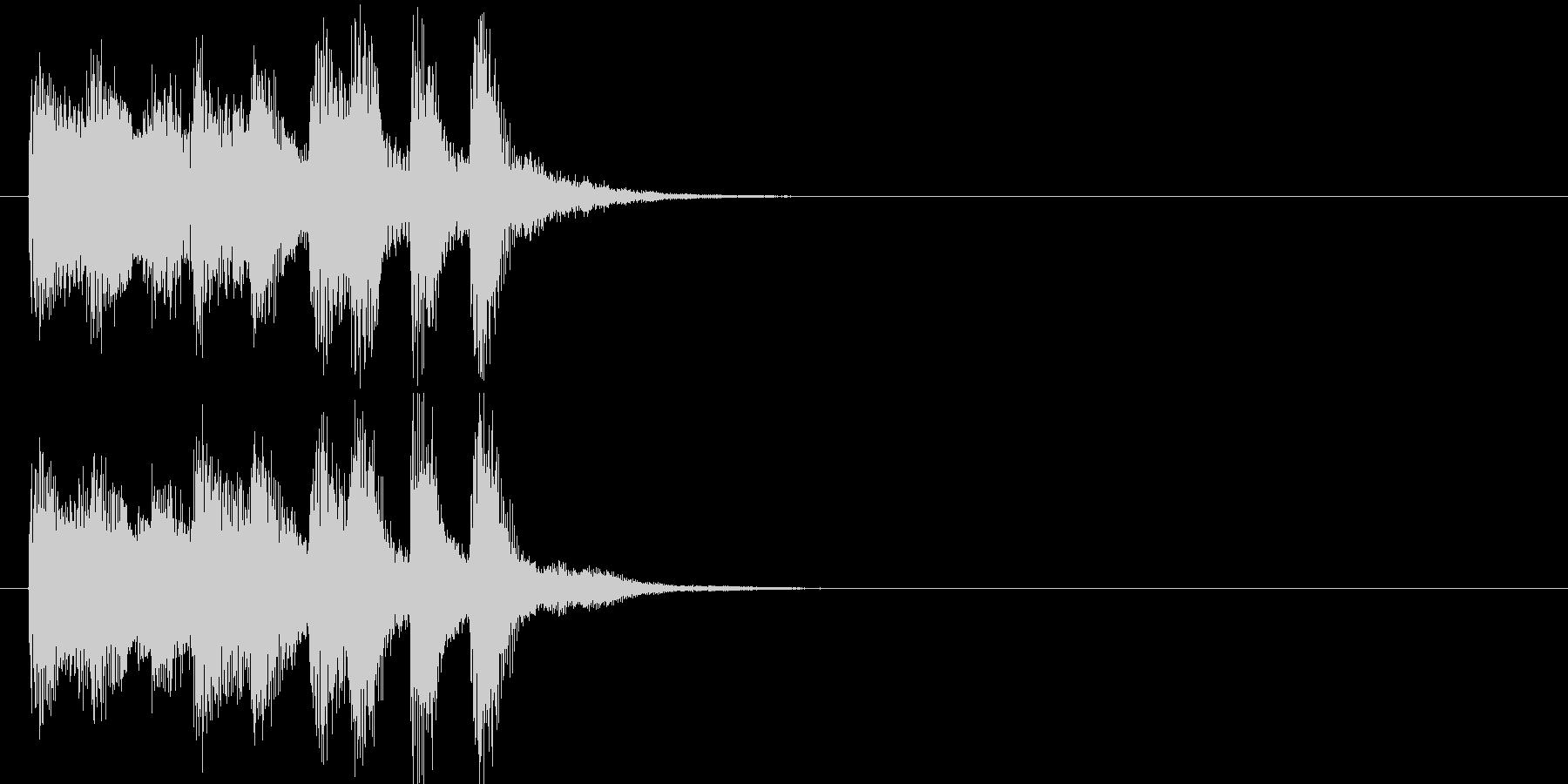 場面転換 クイズ さわやか いきいきの未再生の波形