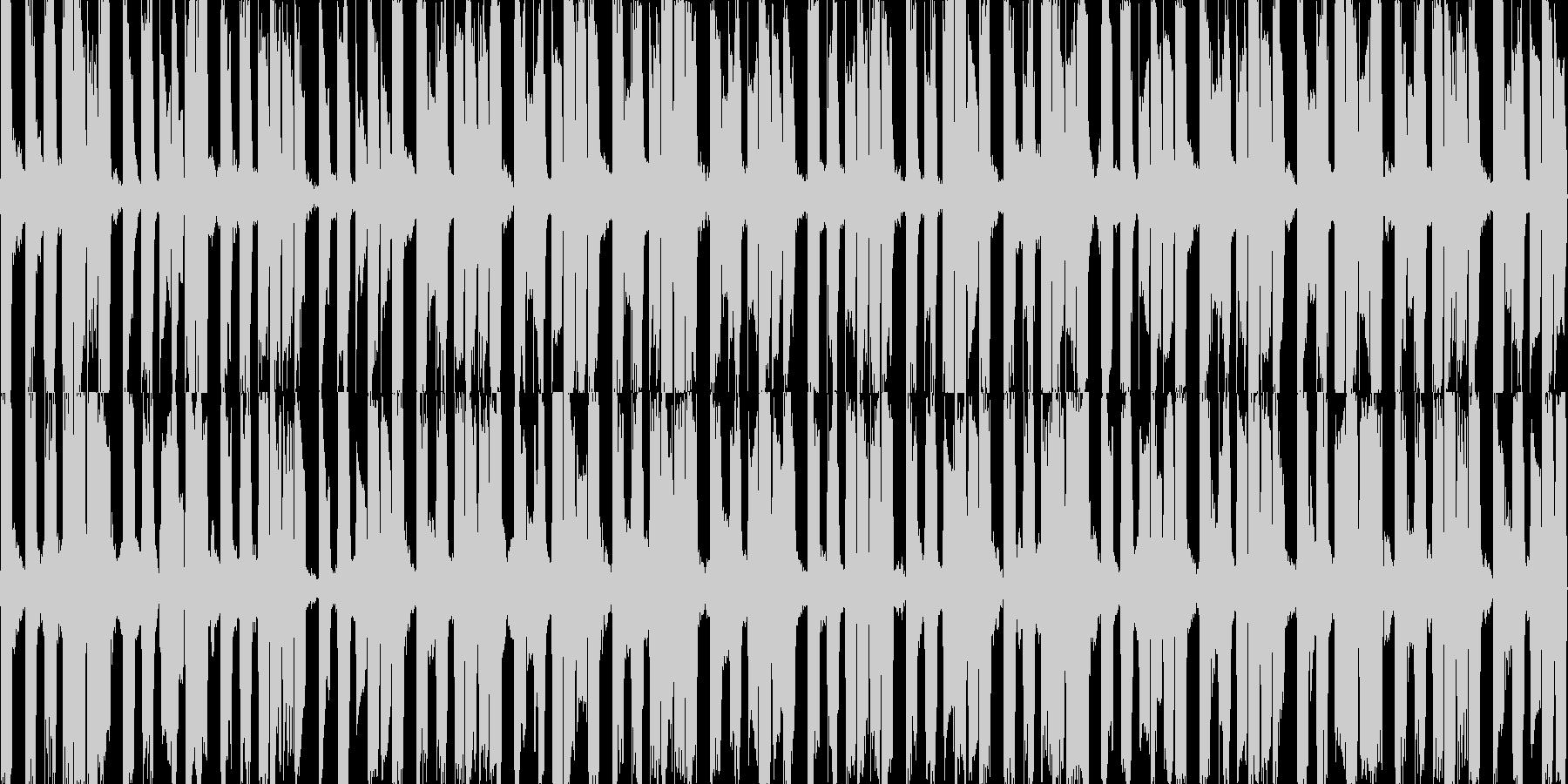 EDMループデモ3。クラブ系。の未再生の波形