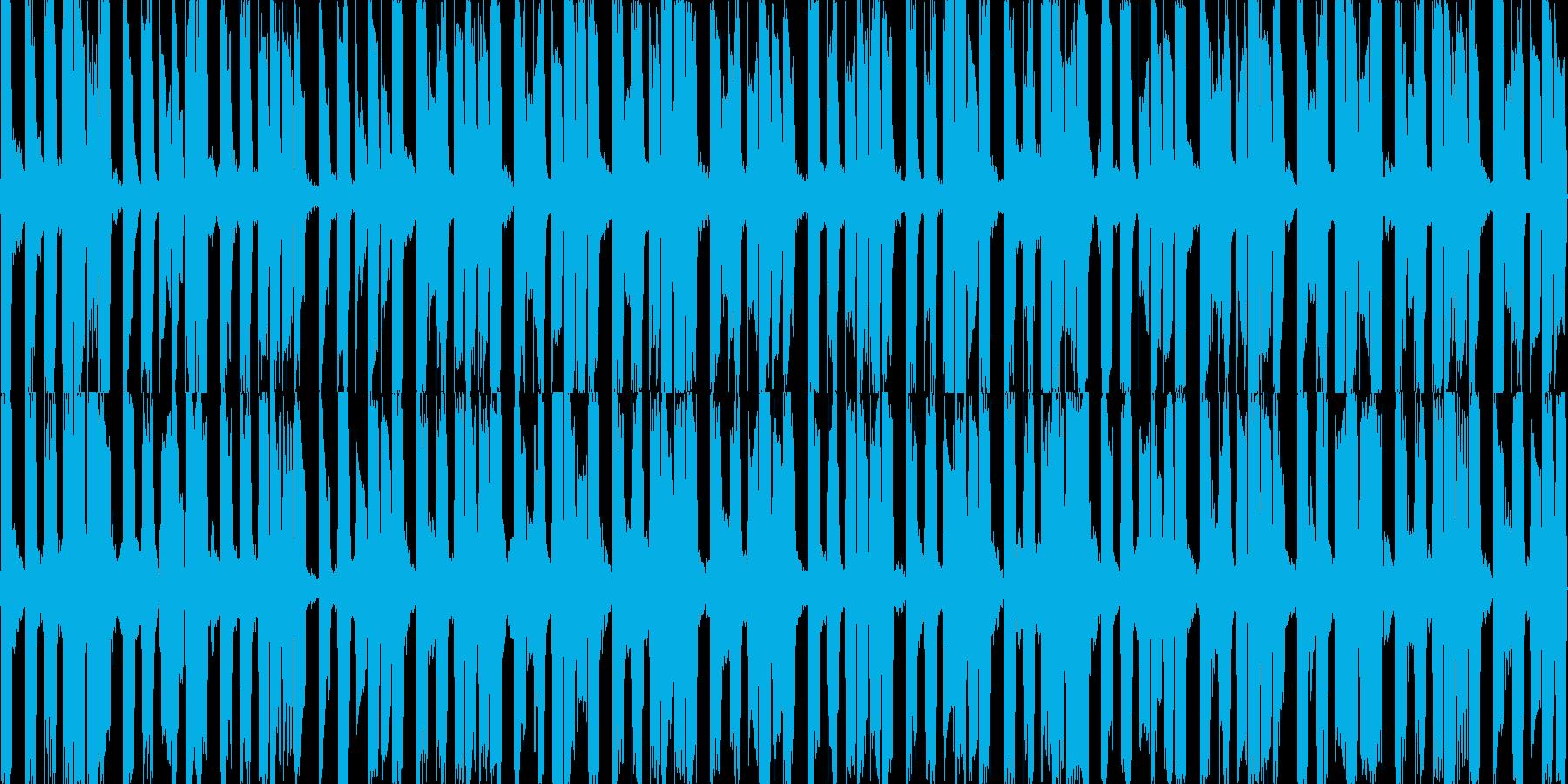 EDMループデモ3。クラブ系。の再生済みの波形
