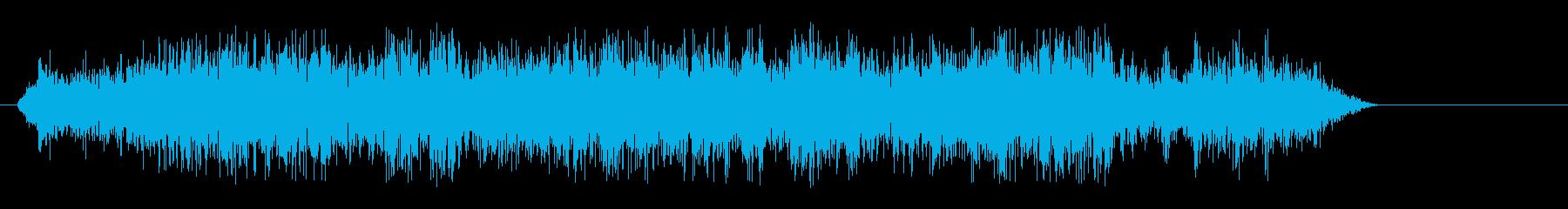 シャーッ(鋭い音色)の再生済みの波形
