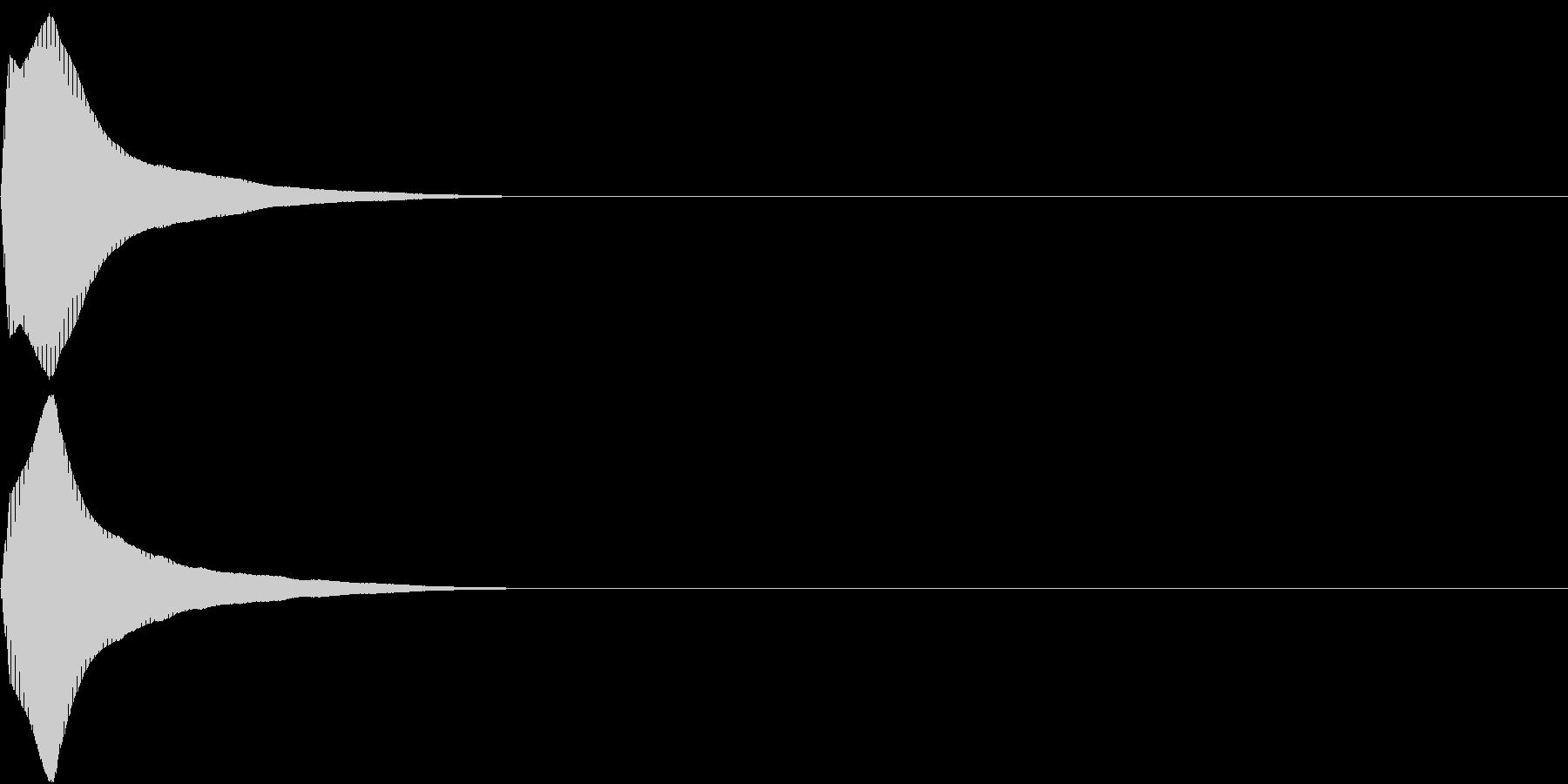 PureTouch アプリ用タッチ音31の未再生の波形