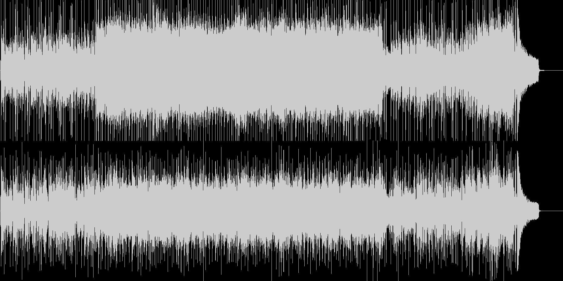 しっとりしたピアノフュージョンの未再生の波形