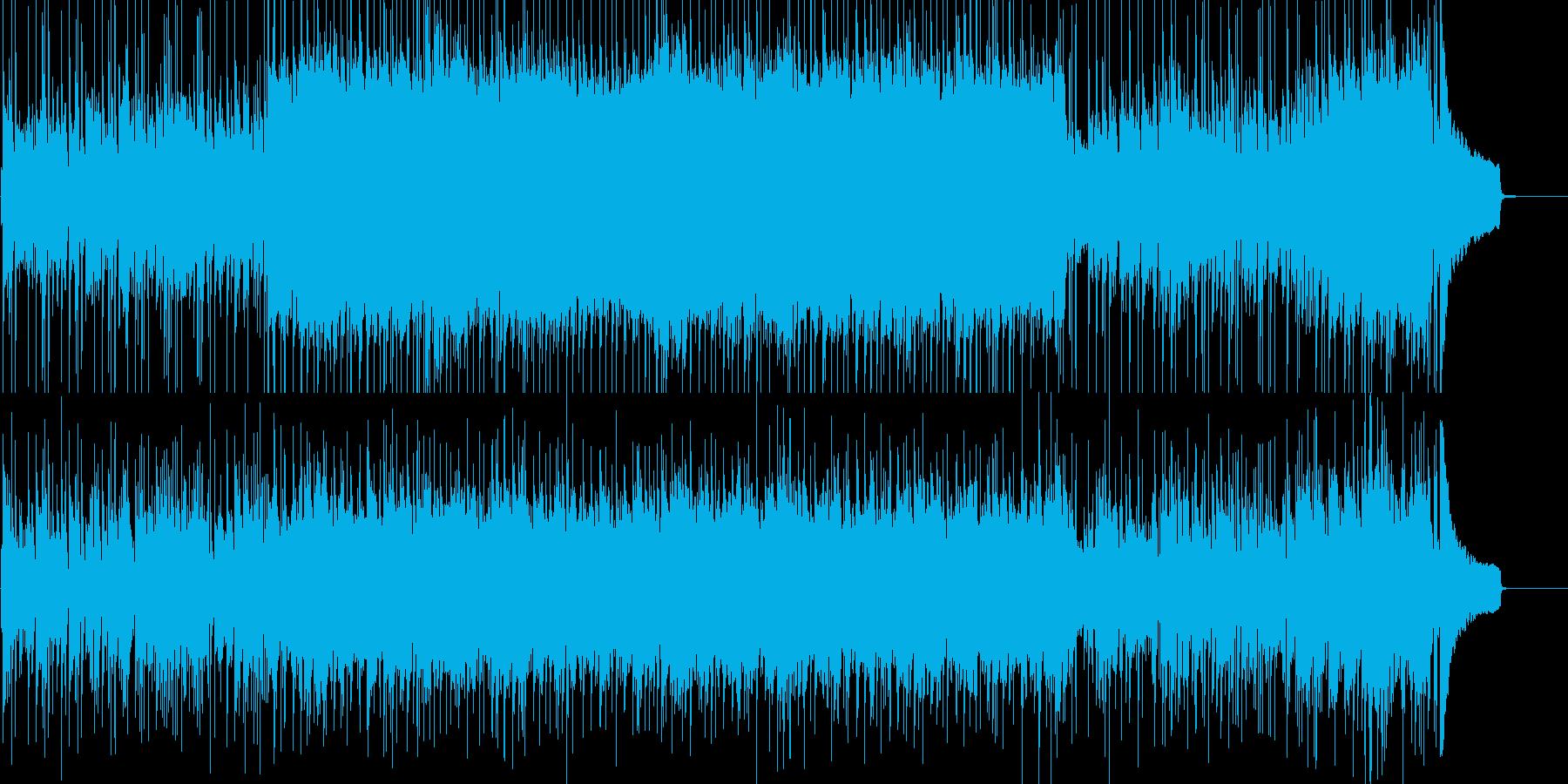 しっとりしたピアノフュージョンの再生済みの波形