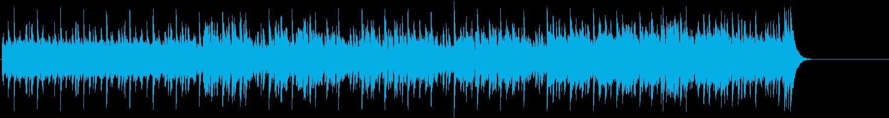 ゆったりしたエンド(イントロ~A~サ…)の再生済みの波形