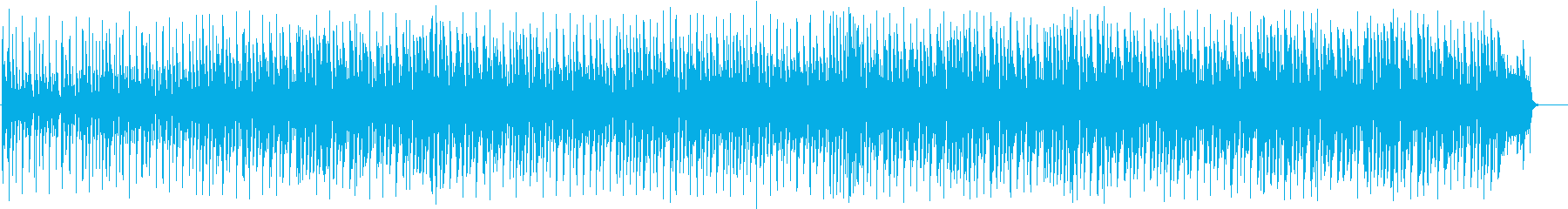 チャレンジ系投稿動画のBGMの再生済みの波形