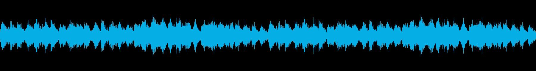 不気味な雰囲気の漂うホラーインストの再生済みの波形
