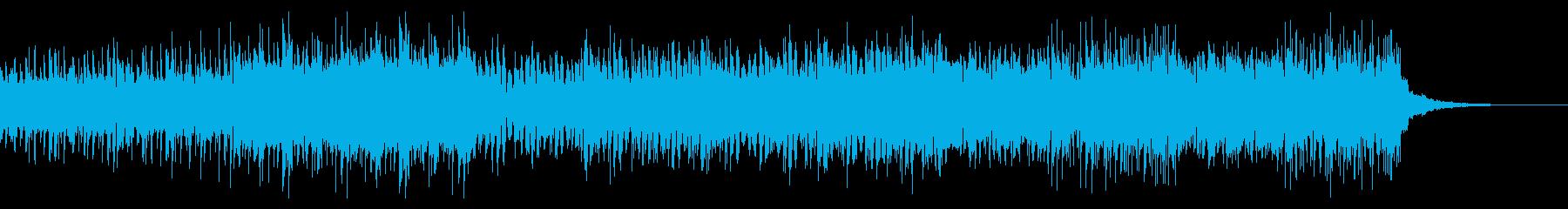 テンポの速いサスペンスで不気味なビートの再生済みの波形