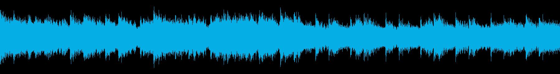 洞窟の冒険、ピアノ/ループ処理済みの再生済みの波形