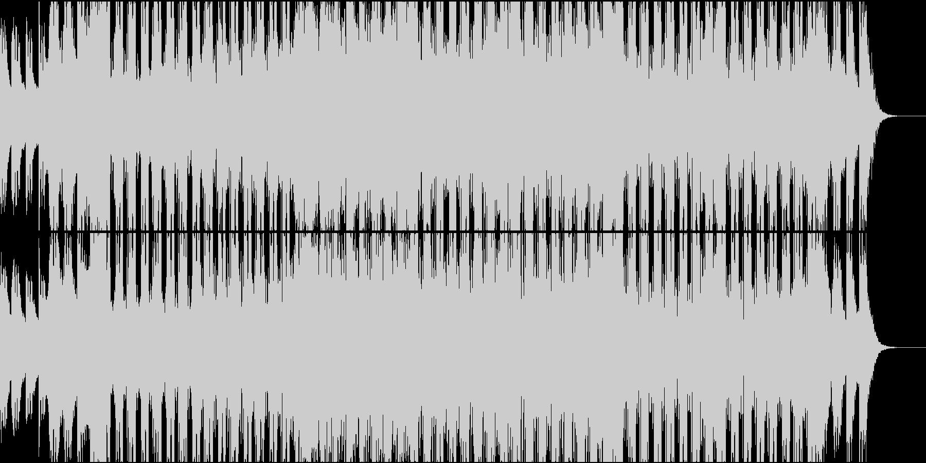ポジティブなテック系の未再生の波形