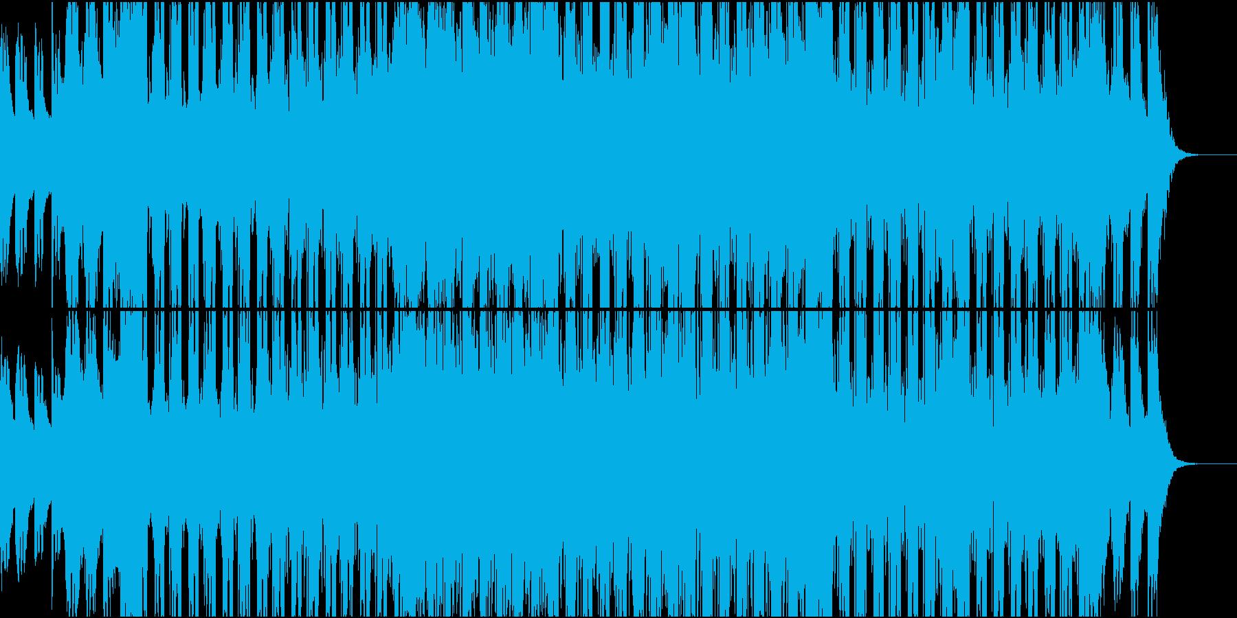 ポジティブなテック系の再生済みの波形