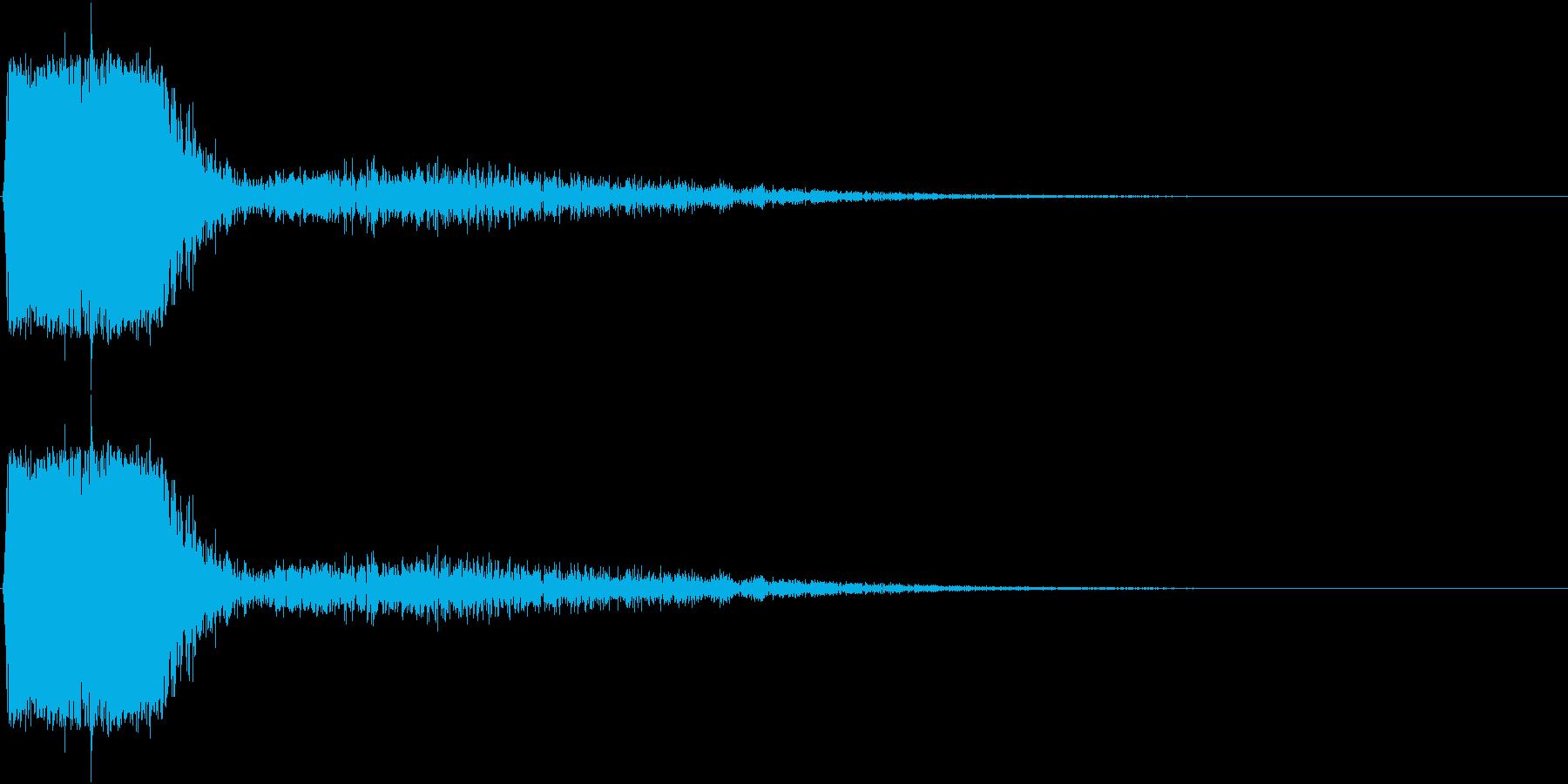 KAKUGE 格闘ゲーム戦闘音 60の再生済みの波形