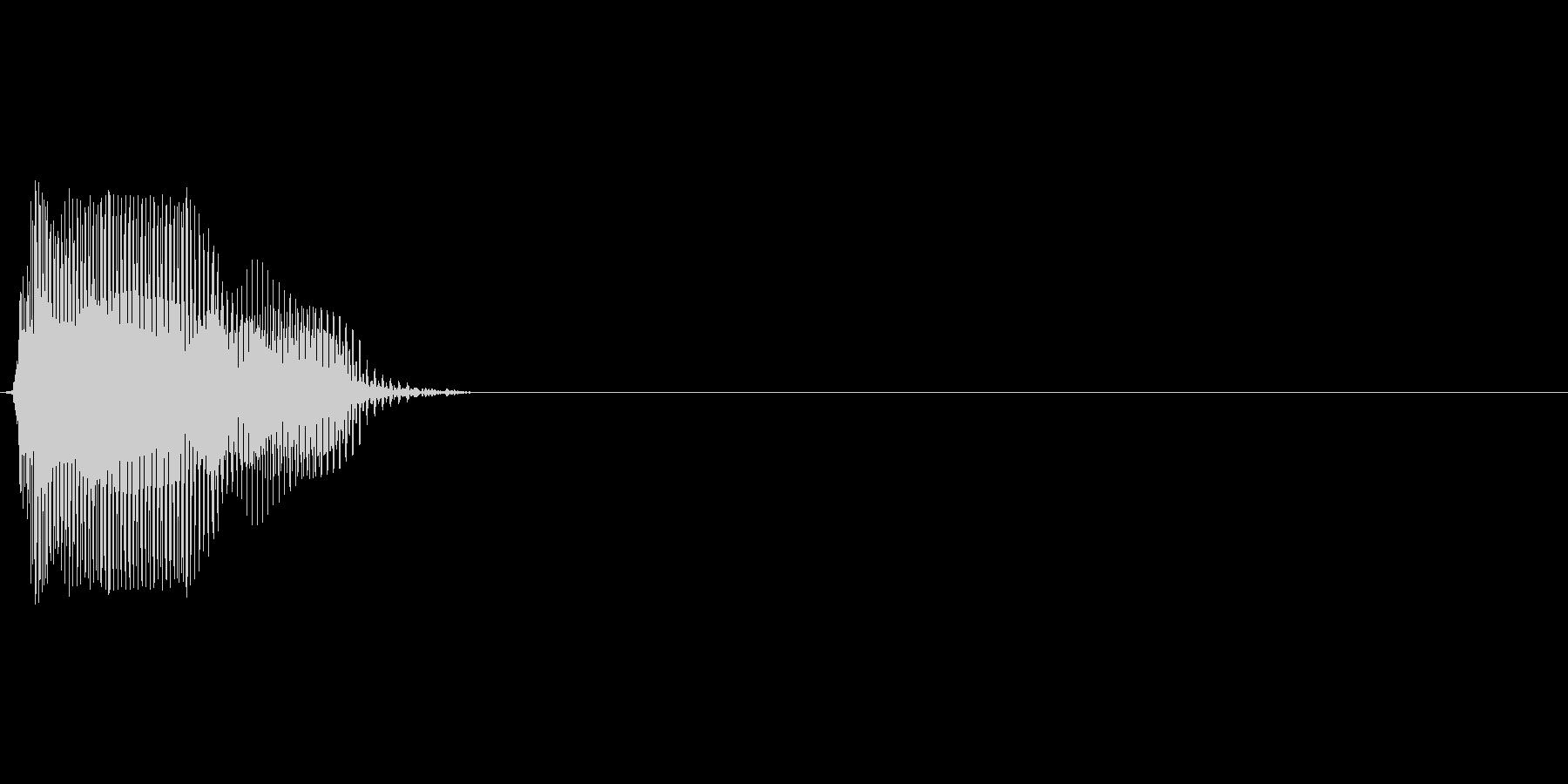 分(ぷん)の未再生の波形