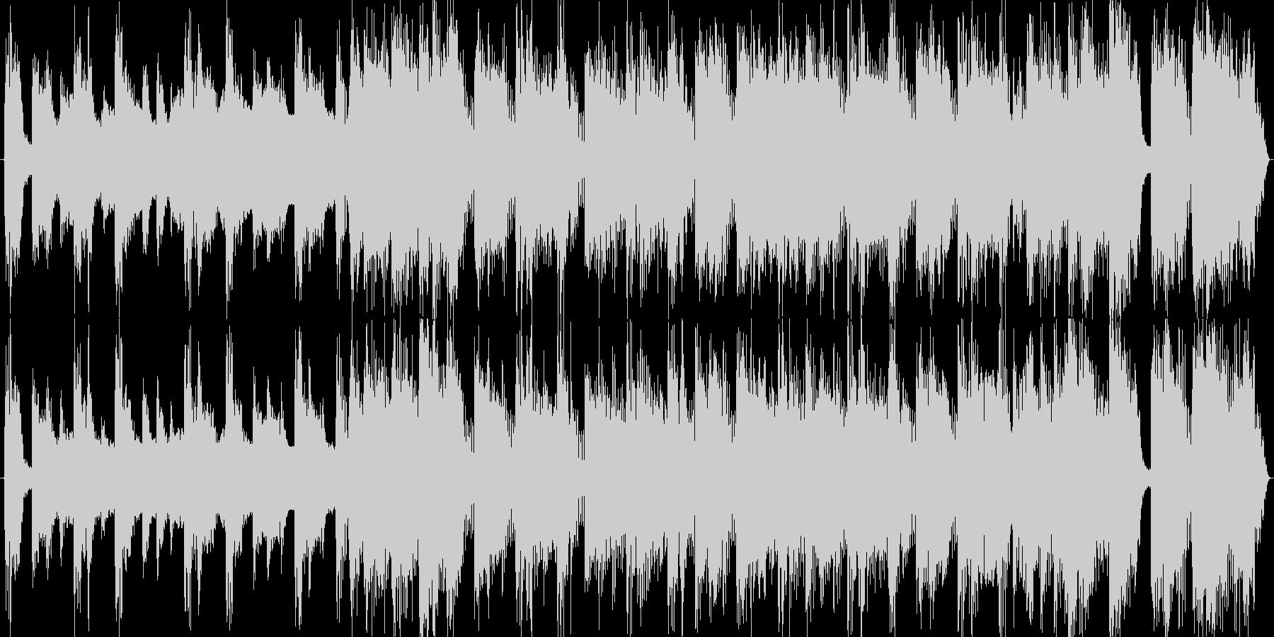 出囃子CMオープニング入場シングルロックの未再生の波形