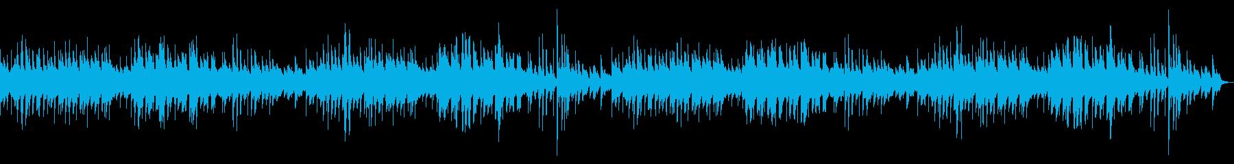 かわいいワルツの再生済みの波形