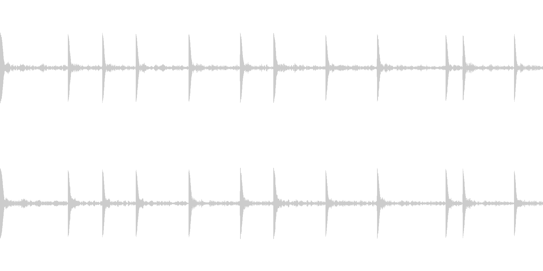 EDM PluckLoop3 音楽制作用の未再生の波形