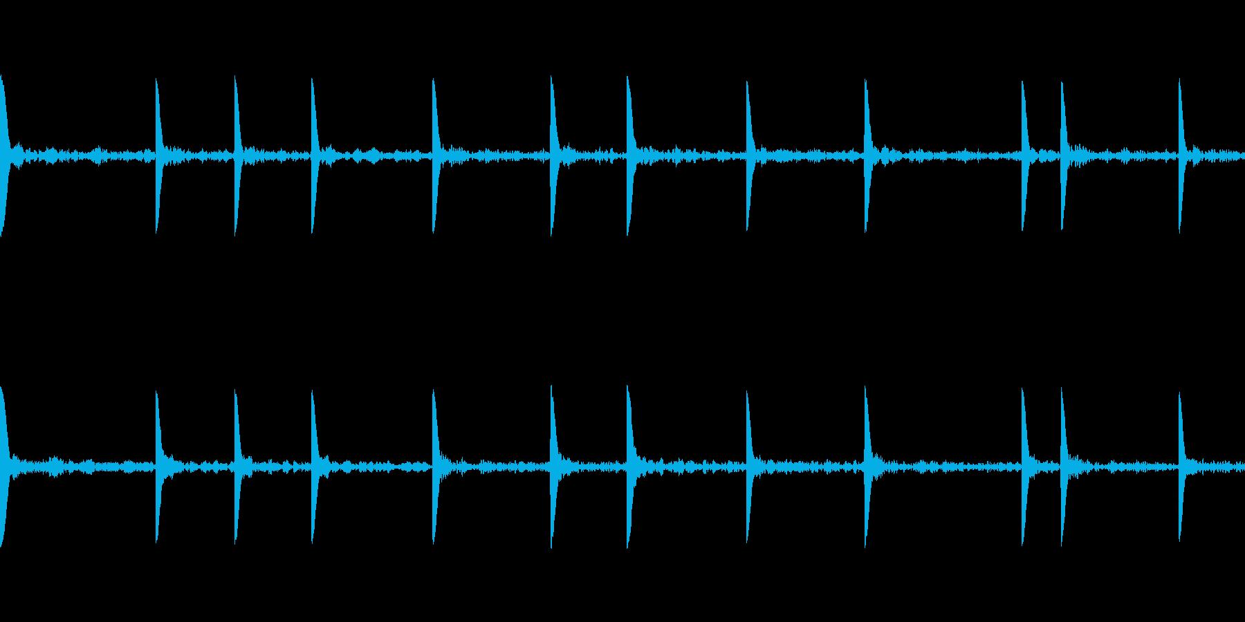 EDM PluckLoop3 音楽制作用の再生済みの波形