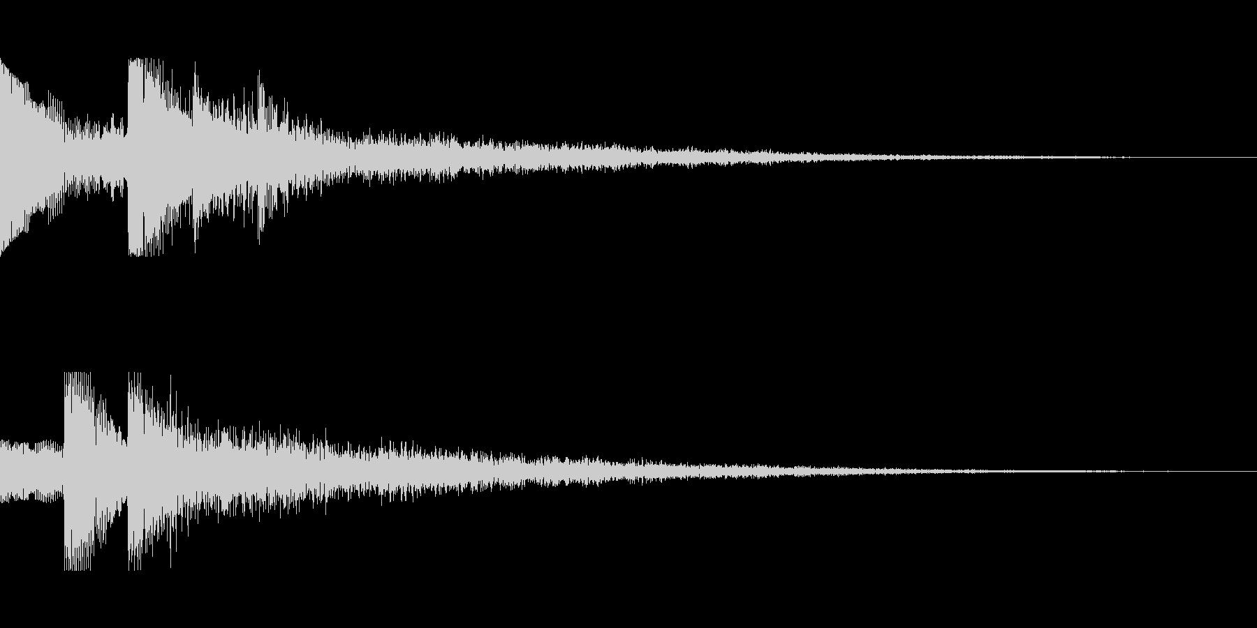 [ピロリン]スキル獲得(可愛く軽やか)の未再生の波形