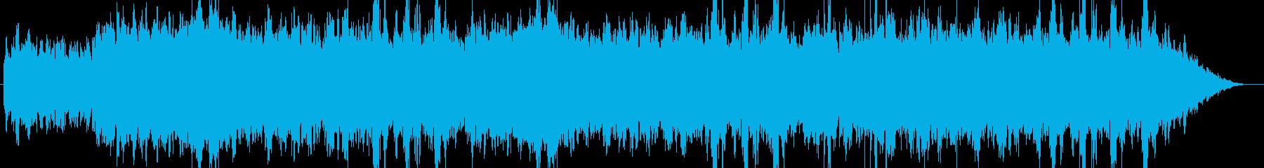 寒く冷たい雰囲気のエレピ曲の再生済みの波形