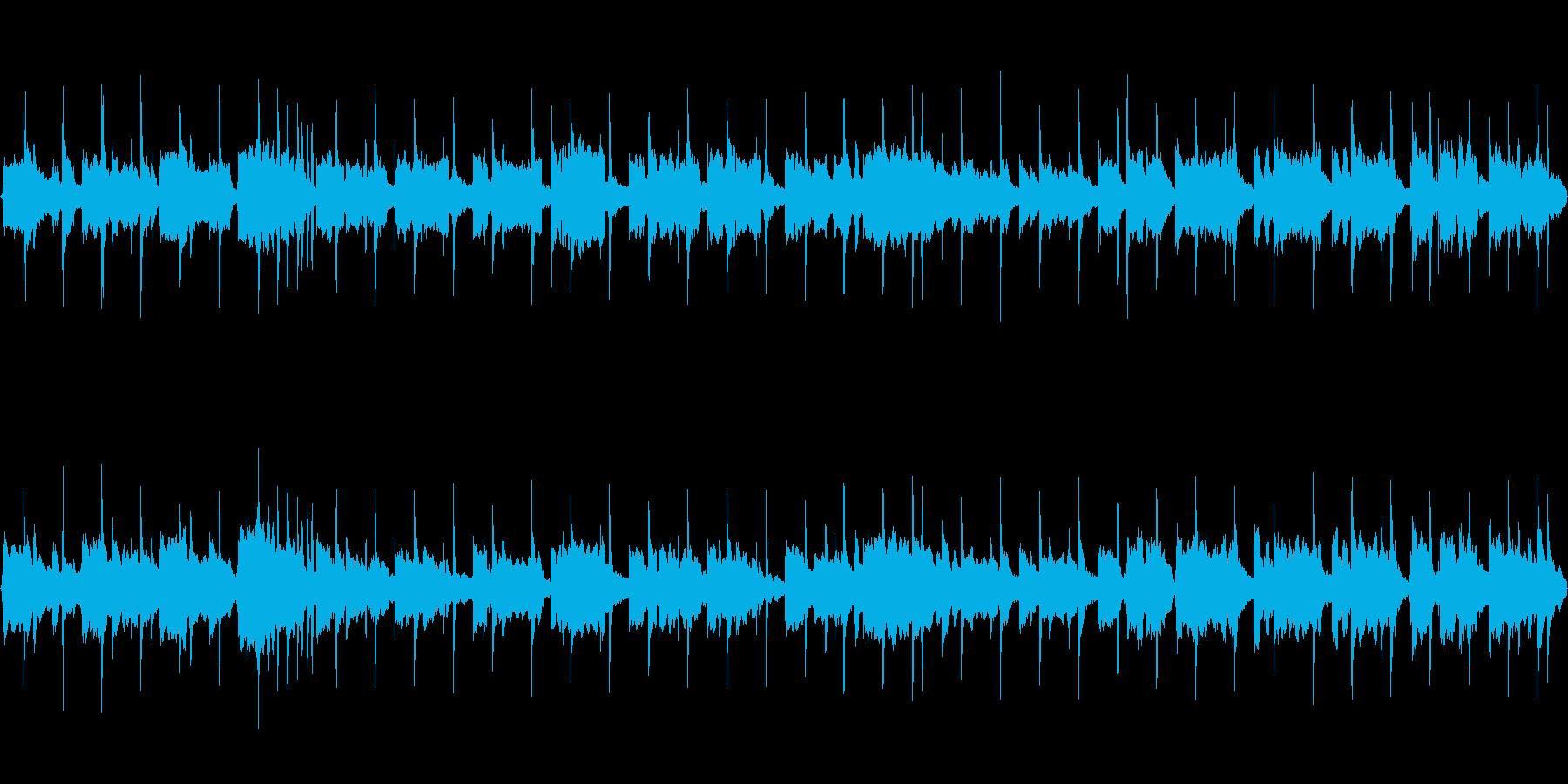 【38秒ループ版】春夏、花咲くイメージ曲の再生済みの波形