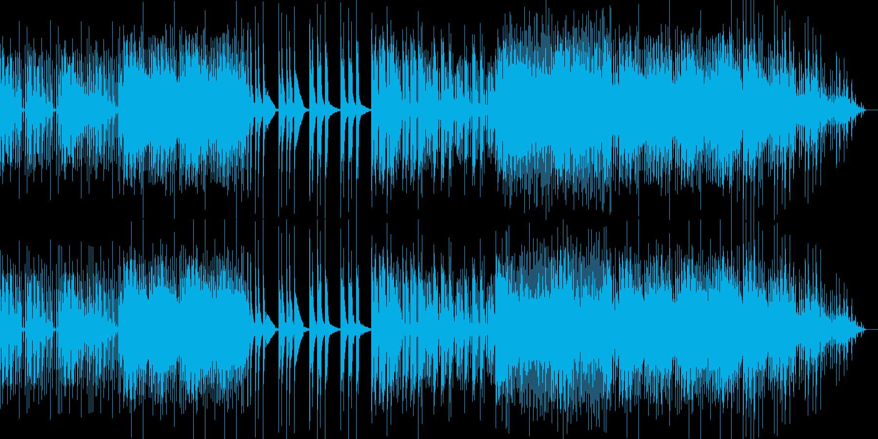 シンプルなR&Bの再生済みの波形