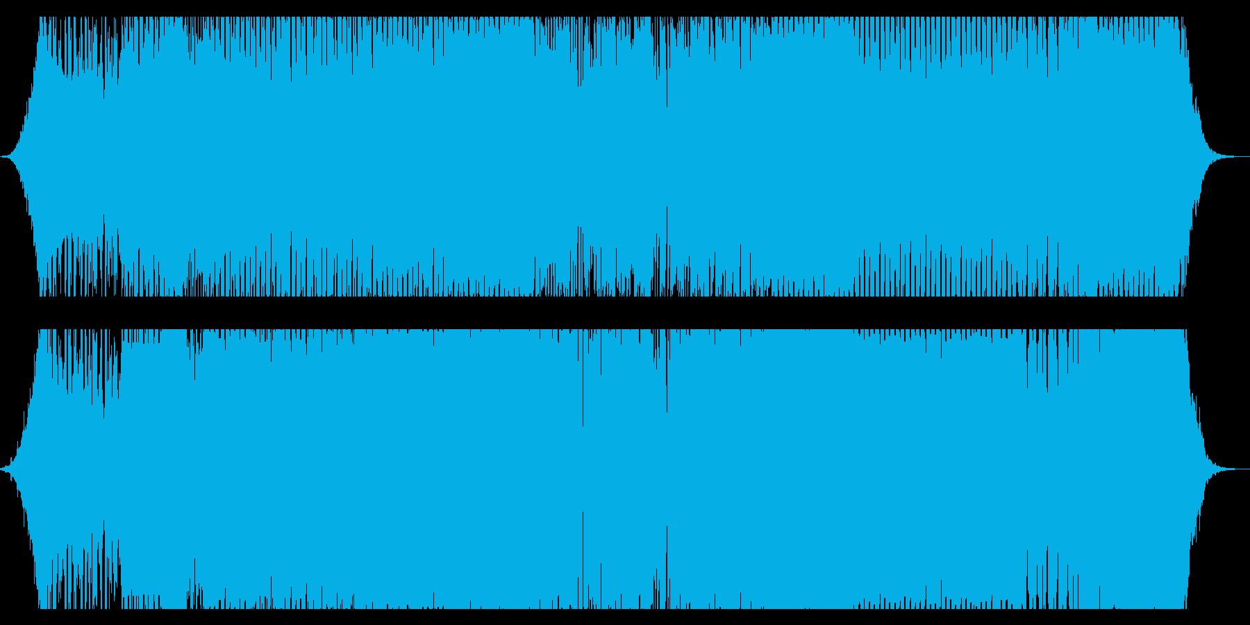 かっこいいDancemusicですの再生済みの波形