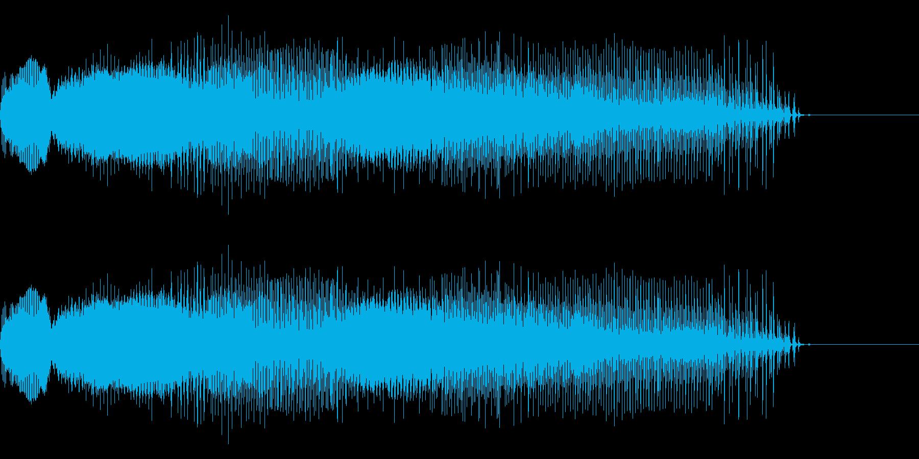 うわああああ(戦闘不能時02・長め)の再生済みの波形