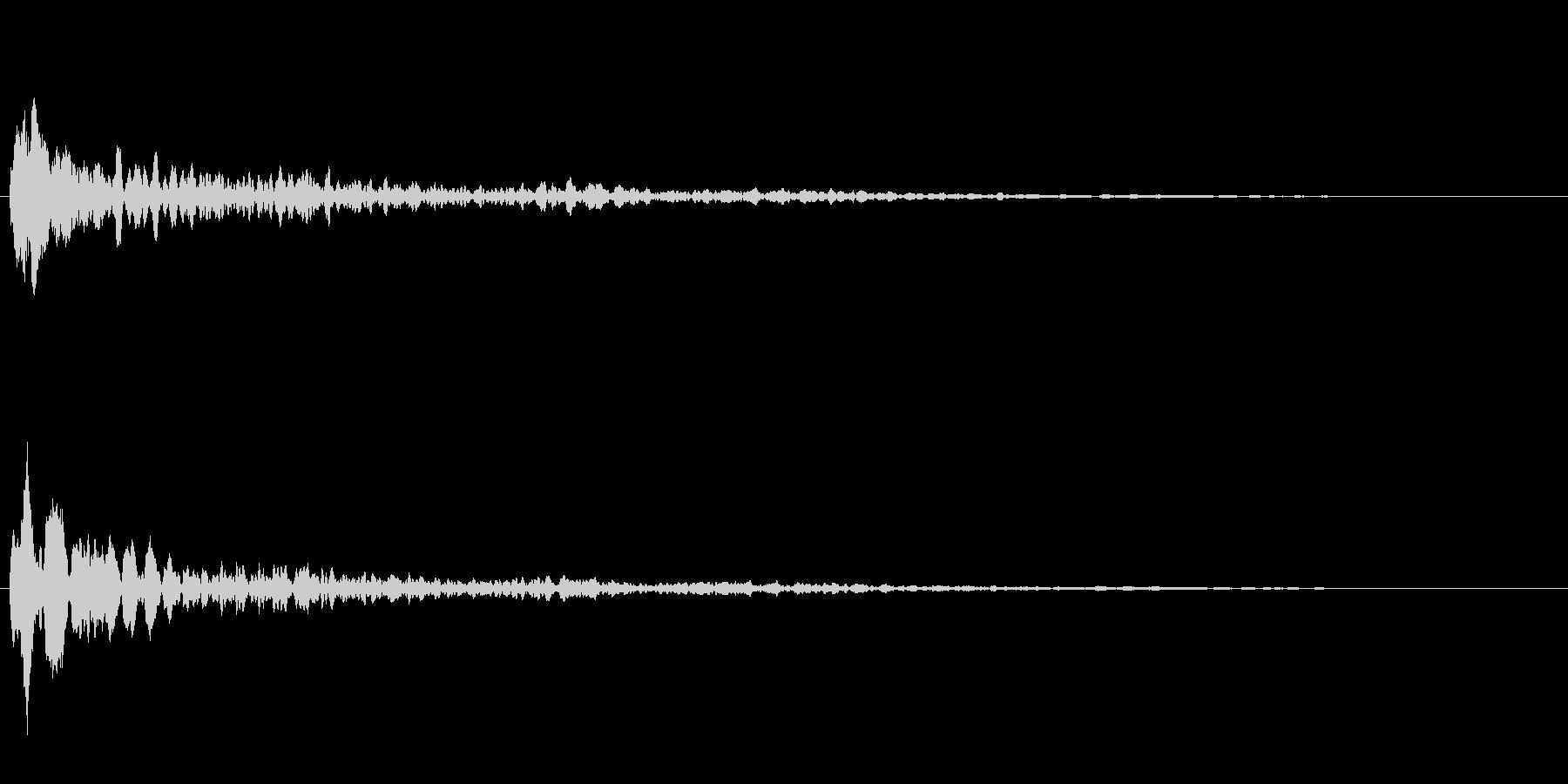 サスペンスに最適!ピアノの弦を弄ぶ音38の未再生の波形
