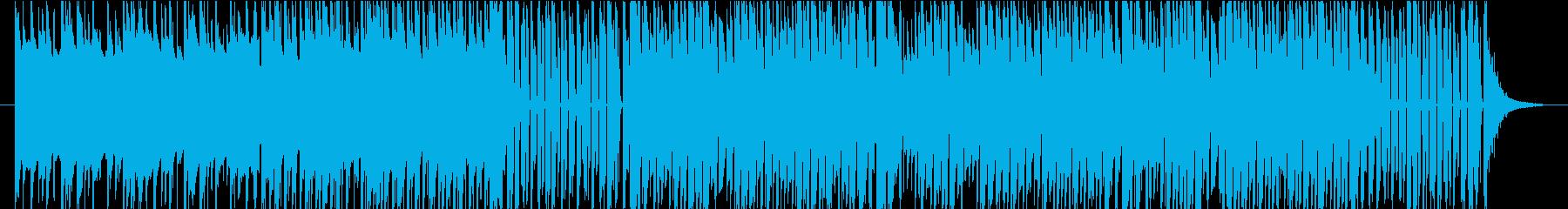 琴とシンセの和風EDMの再生済みの波形