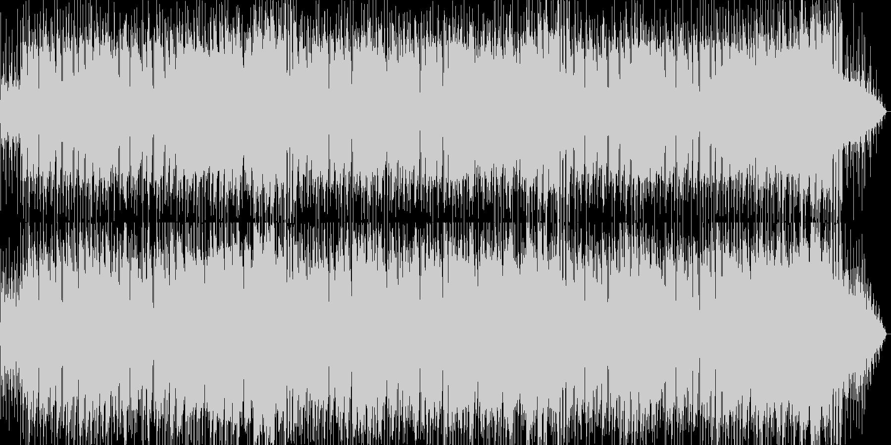 メロディアスなバラード曲の未再生の波形