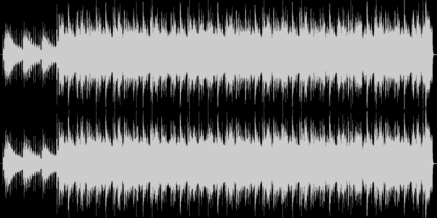 ヒップホップ調ジングルの未再生の波形