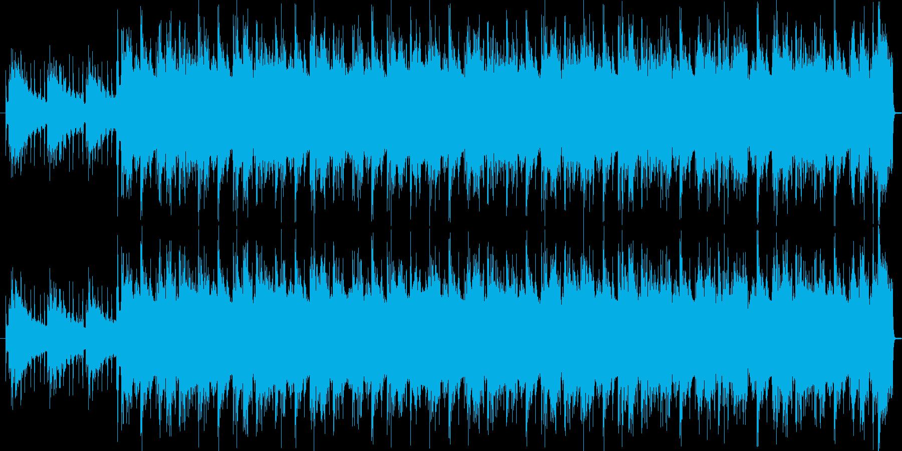ヒップホップ調ジングルの再生済みの波形