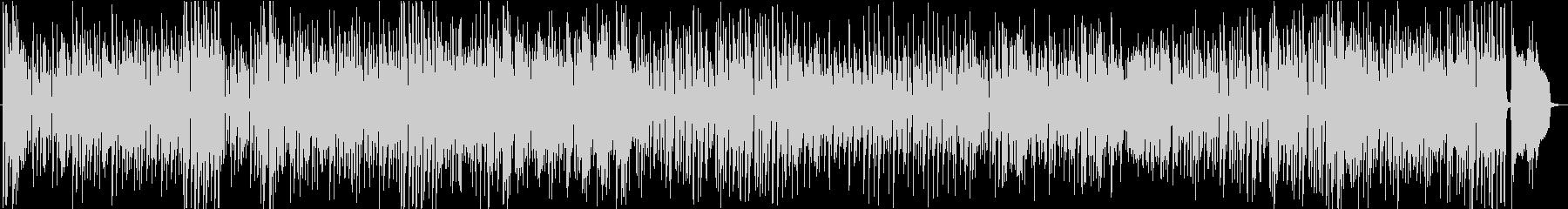 コミカルで軽快なジャズ風サックスの未再生の波形