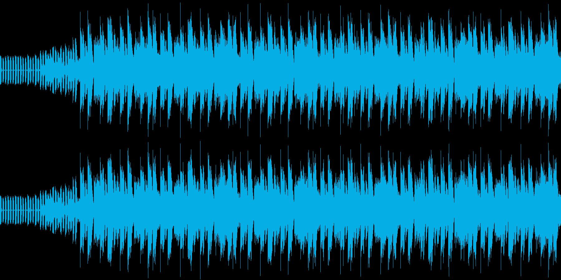 軽快の中の不安の再生済みの波形