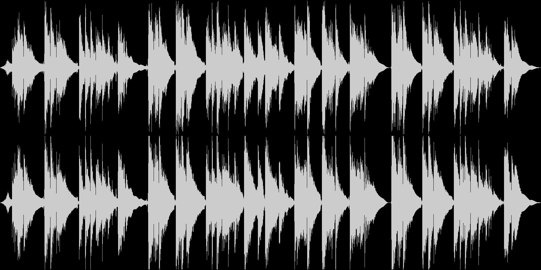 波の音から始まるアコギインストの未再生の波形