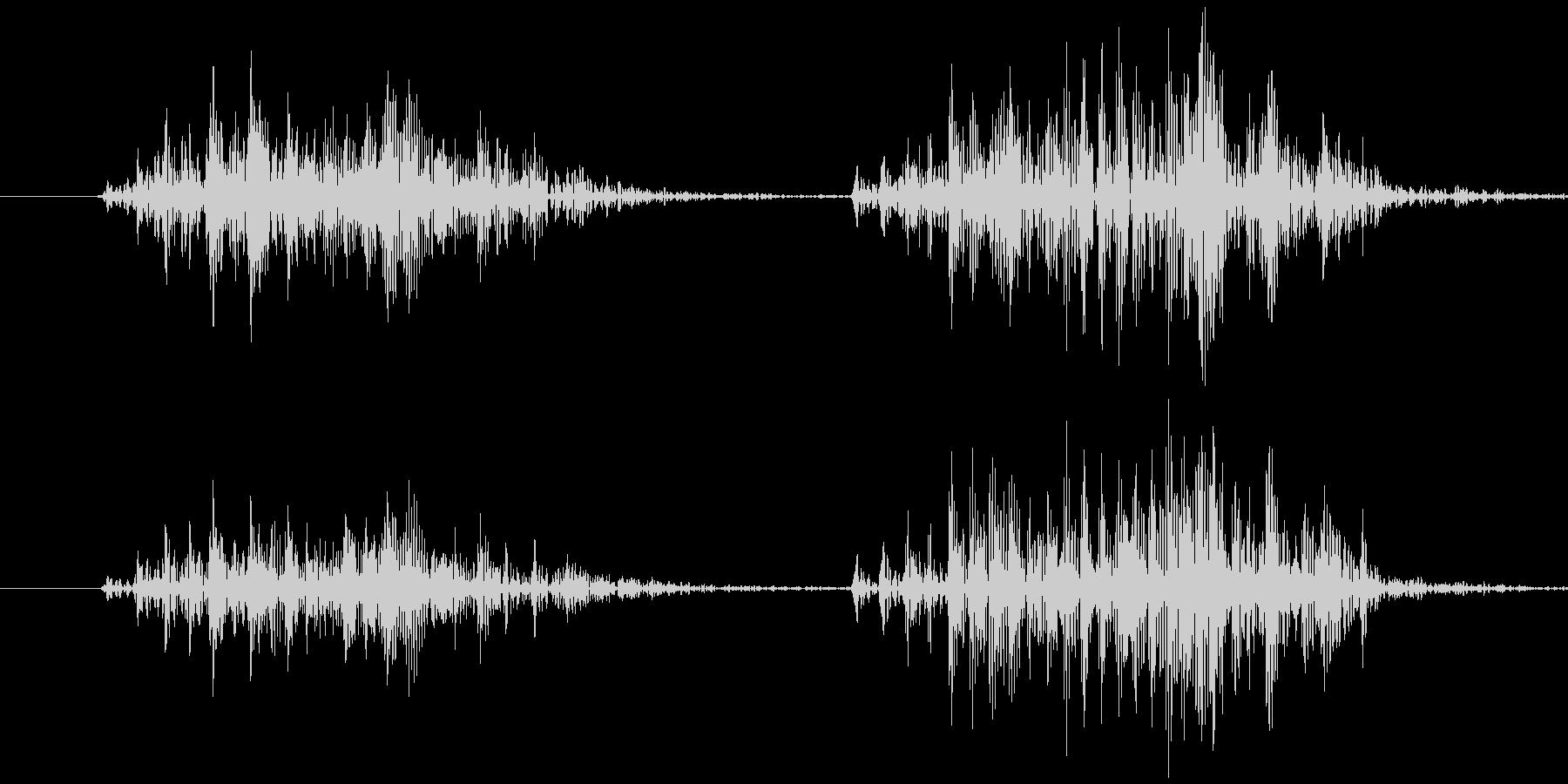 スマイルハンマー ビヨッ(強め)の未再生の波形
